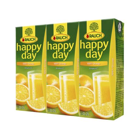 Rauch Happy Day Orange 3x 0,2 Liter