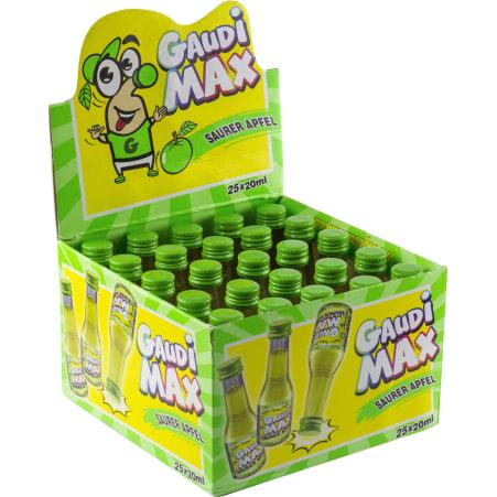 Gaudi-Max Saurer-Apfel 16% 25x 0,02 Liter