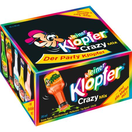 Kleiner Klopfer Crazy Mix 25x 0,02 Liter