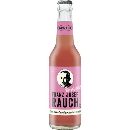Rauch Bio Franz Josef Rhabarber g'spritzt 0,33 Liter Mehrweg-Flasche