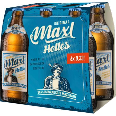 Maxlrainer Maxl Helles 6x0,33lt MW