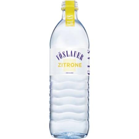 Vöslauer Mineral Zitrone 0,5 Liter Glas