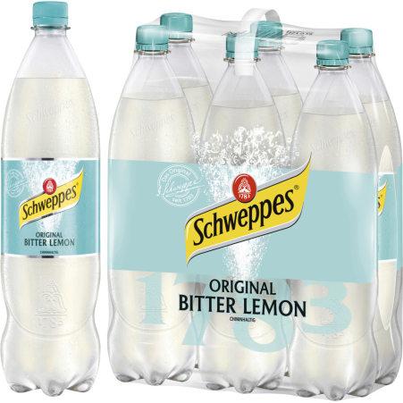 Schweppes Original Bitter Lemon 1,25 Liter