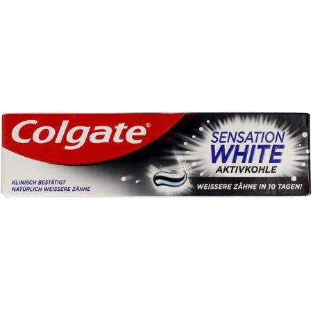 COLGATE Zahnpasta Sensation White Aktivkohle