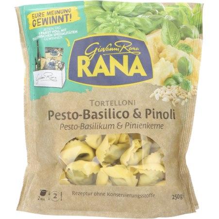 Pastificio RANA S.p.A. Tortelloni Pesto Basilikum & Pinienkerne