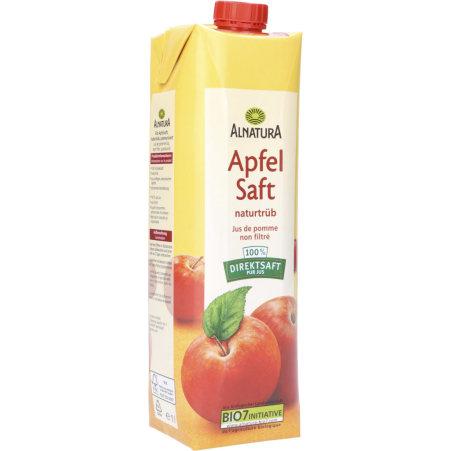 Alnatura Bio Apfelsaft naturtrüb 1,0 Liter
