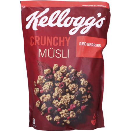 Kellogg's Crunchy Müsli Red Berries