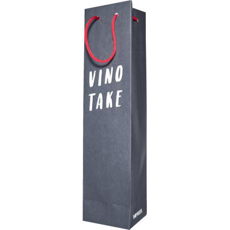 Vino Take Weintragetasche Vino take blau