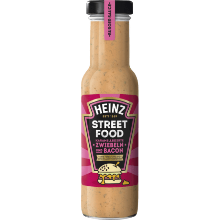 Heinz Sauce karamelisierte Zwiebel & Bacon