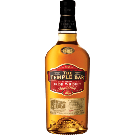The Temple Bar  Irish Whiskey 40%