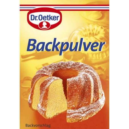 Dr. Oetker Backpulver 3er-Packung