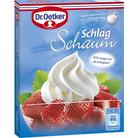 Dr. Oetker Schlagschaum 2er-Packung