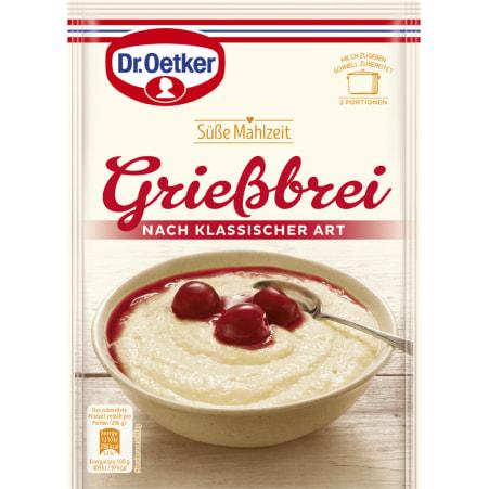 Dr. Oetker Grießbrei