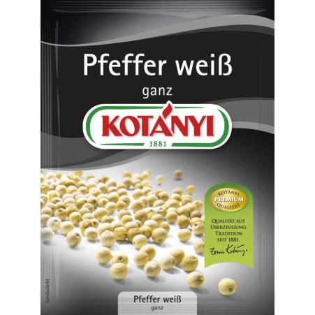 Kotányi Pfeffer weiß ganz