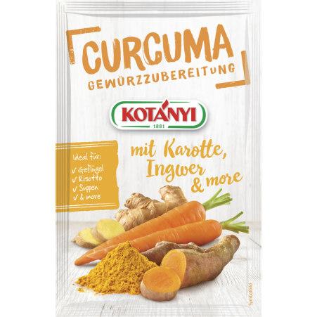 Kotányi Let's Go Curcuma mit Karotte-Ingwer