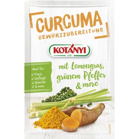 Kotányi Let's Go Curcuma mit Lemongras-grünem Pfeffer