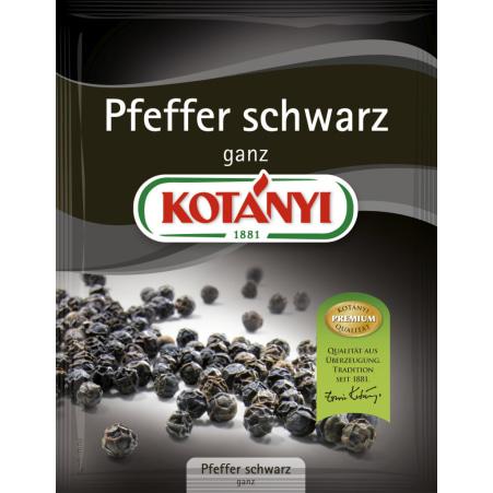 Kotányi Pfeffer schwarz ganz 24 gr