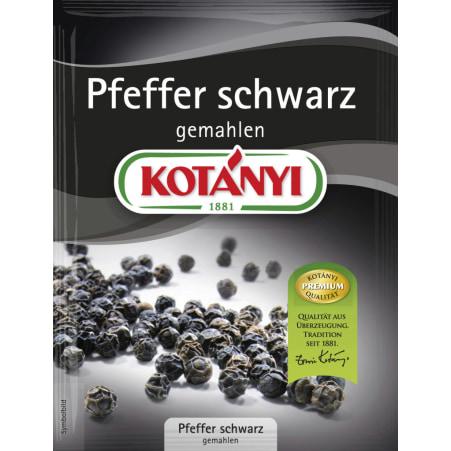 Kotányi Pfeffer schwarz gemahlen 30 gr