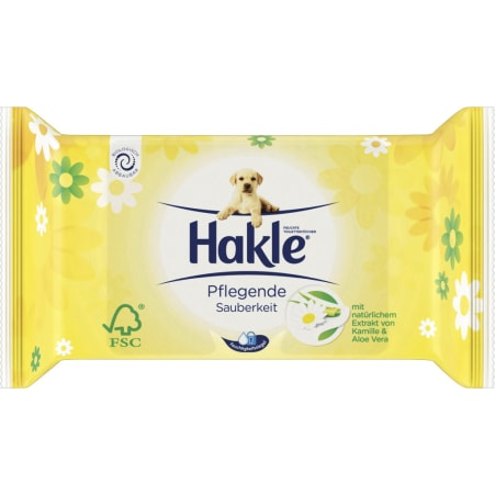 Hakle Feuchte Toilettentücher Kamille & Aloe Vera