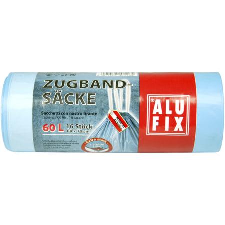 AluFix Zugbandsäcke 60 Liter 16er-Packung