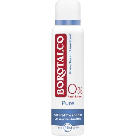 Borotalco Pure Natural Deo-Spray