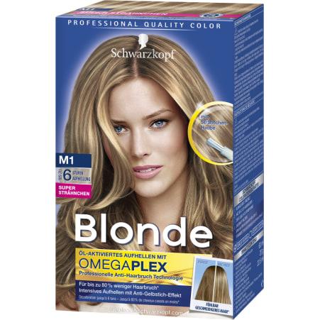 Blonde Blonde Strähnchen