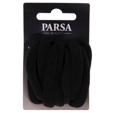 PARSA Zopfhalter schwarz 9er-Packung