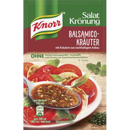 Knorr Salatkrönung Salatdressing Balsamico-Kräuter