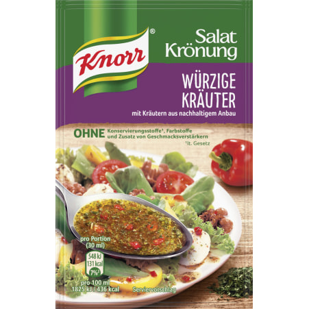 Knorr Salatkrönung Salatdressing Würzige Kräuter