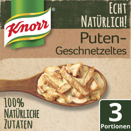 Knorr Echt Natürlich Geschnetzeltes