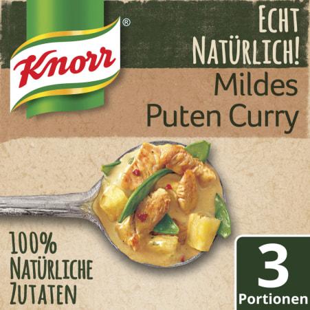 Knorr Echt Natürlich Putencurry