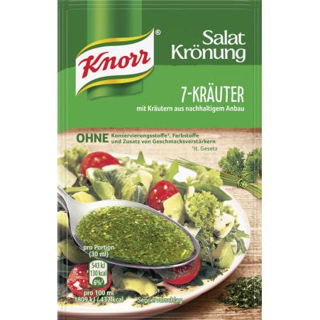 Knorr Salatkrönung Salatdressing 7-Kräuter