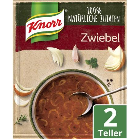 Knorr Echt Natürlich Zwiebelsuppe
