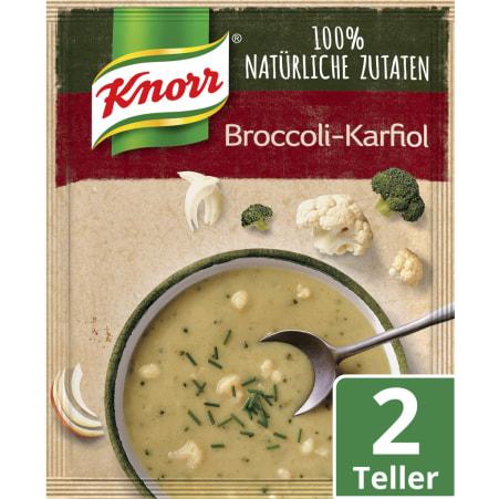 Knorr Echt Natürlich Broccoli-Karfiol Cremesuppe