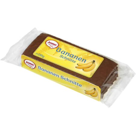 JOMO Zuckerbäckerei Bananenschnitte