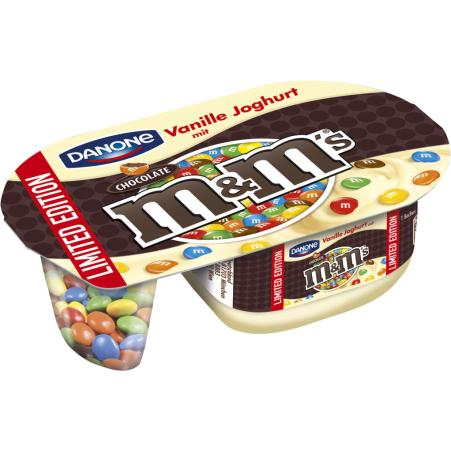 Danone  M&M's Vanillejoghurt