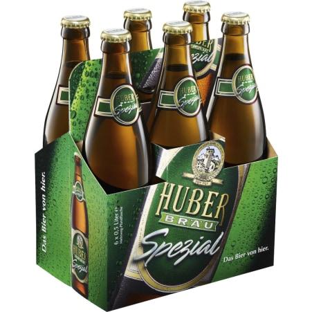 Huber Bräu Spezial 6er-Tray Mehrwegflasche