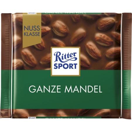 RITTER SPORT Schokolade Ganze Mandel