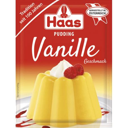 Haas Vanillepudding 3er-Packung