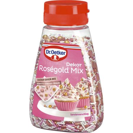 Dr. Oetker Rosegold Mix Streudekor