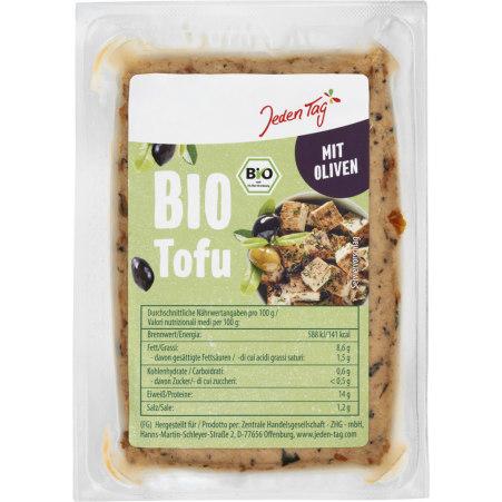 Jeden Tag Bio Tofu Olive
