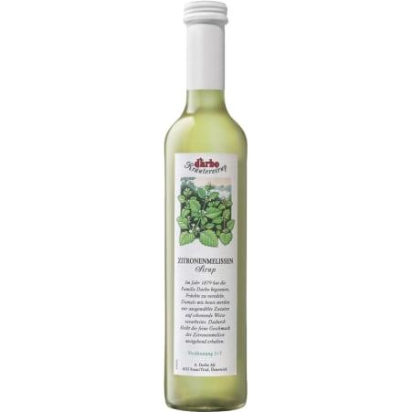 Darbo Sirup Zitronen-Melisse 0,5 Liter