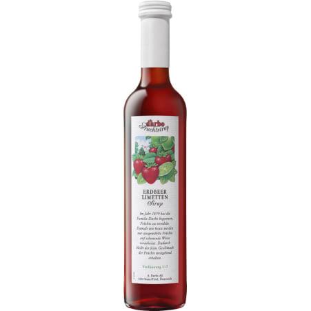 Darbo Sirup Erdbeere-Limette 0,5 Liter