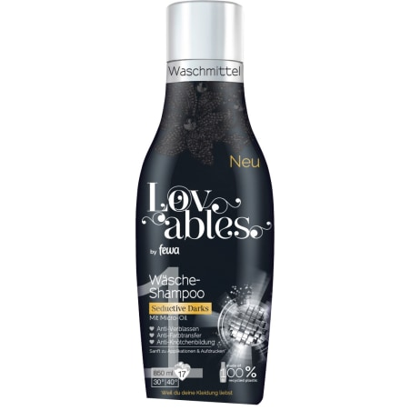 Fewa Lovables Wäsche-Shampoo Black 17 Waschgänge