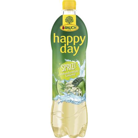 Rauch Happy Day Holunder-Limette gespritzt