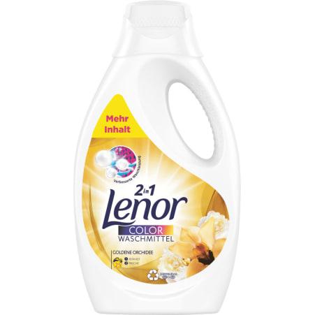 Lenor Color Waschmittel Goldene Orchidee 25 Waschgänge