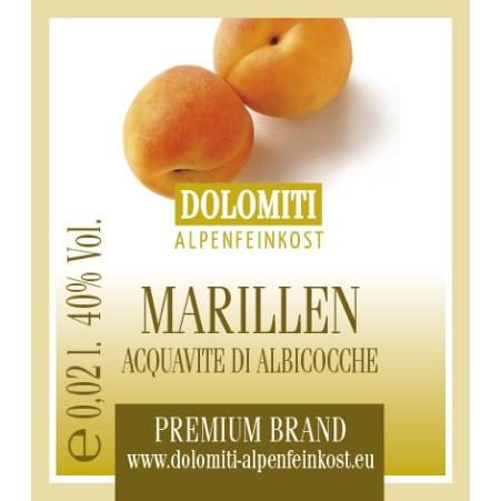 Dolomiti Marillenbrand 40% Mini