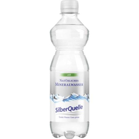 SilberQuelle Mineralwasser still 0,5 Liter