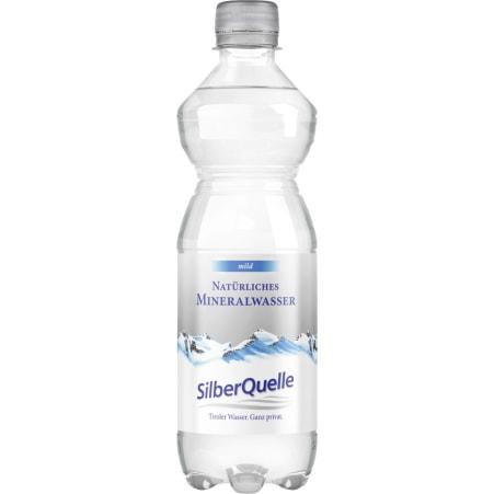 SilberQuelle Mineralwasser mild 0,5 Liter