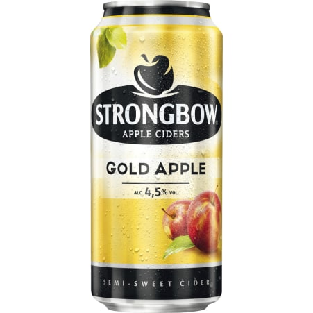 STRONGBOW Cider Gold 0,44 Liter Dose